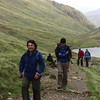 Tim and Adrian above Styhead Tarn