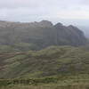 Langdale Fell in the distance, from just above Eskdale Hause