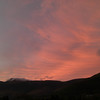 Evening over the Skiddaw range