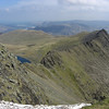 Striding Edge.  Yes, that's snow in the foreground.