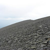 The immense scree slopes of Skiddaw