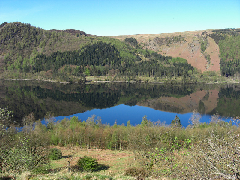 Thirlmere on a perfect morning