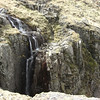 Waterfall near the corridor route