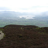 Derwentwater from the lower slopes of Carl Side above Millbeck