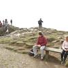 Harvey and Rosa resting near the Beacon top