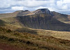 Pen y Fan looms over the landscape