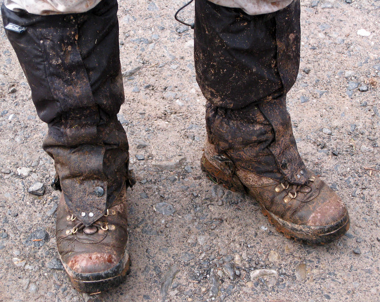 thats' real mud, that is