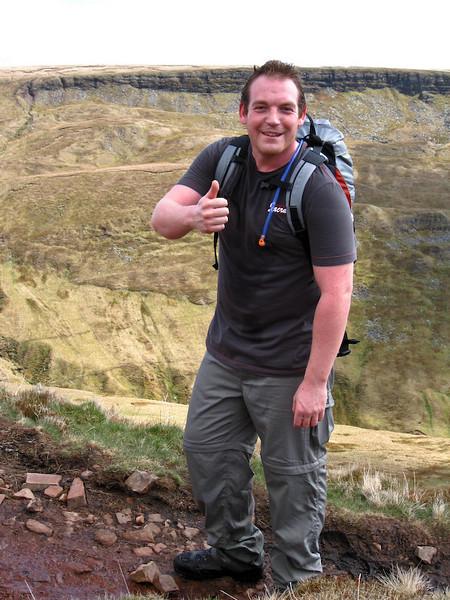 Ed's first hike - feeling fine