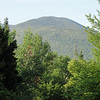 Mount Hale as seen from the Sugarloaf campground (site 1)