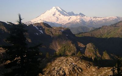Mt. Baker from the top of Yellow Aster Butte.