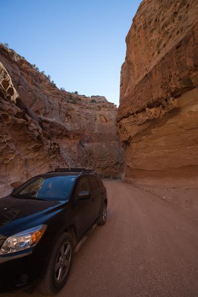 Capitol Gorge drive