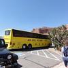 Bring on the tour buses!  Park Avenue trailhead, Arches National Park