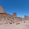 Three Gossips, Park Avenue trail, Arches National Park