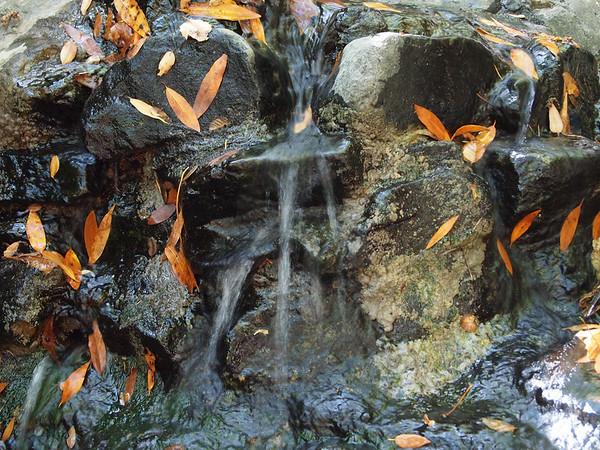 Basin Falls close-up.
