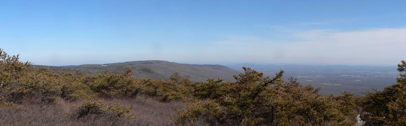 View of Minnewaska SP from the Verkeerder Kill Falls Trail.