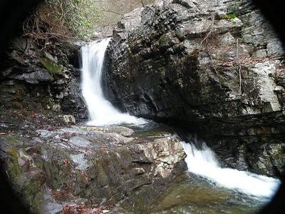 Upper Rock Creek Falls  Ocoee, TN