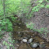 Spring stream near the Hiwassee