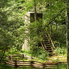 High and Mighty outhouse <br /> Pisgah National Forest, NC