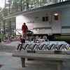Campsite at Fall Creek Falls