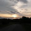 Sunset on the plateau