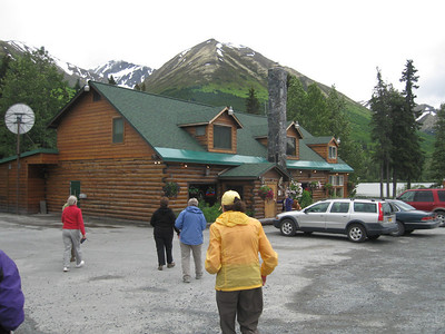 Twenty six women headed for the Summit Lake restaurant.  We ate dinner there before heading home.  It was a great trip!