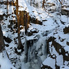 Buttermilk Falls on January 12, 2009.