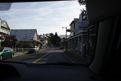 Highway 120 passes through a variety of small and intriguing towns, such as Groveland.