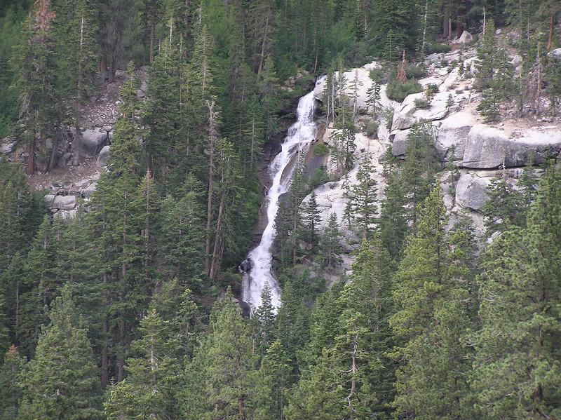 Lone Pine falls