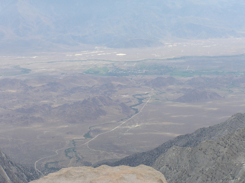 Lone Pine from the summit.