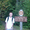 Eric at the trailhead