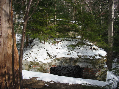 Kiln on Nancy Brook Trail