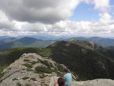 Looking to the Sisters from the summit
