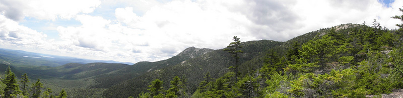 Chocorua and Sisters panorama