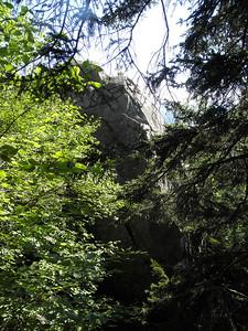 Weetamoo Rock, closed in