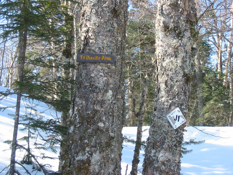 Cohos Trail sign