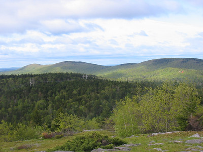 Wapack Range including New Ipswich Mtn