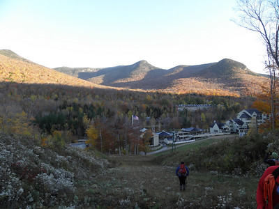 Everyone admires the early views of Whaleback and Potash Knob