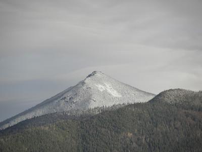 A snowy Liberty