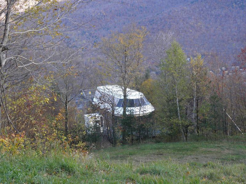 Alien spaceship!