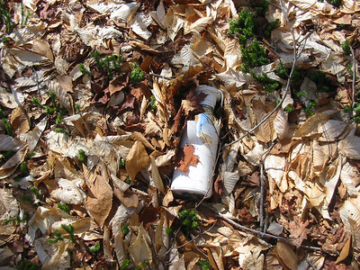 Out in the middle of nowhere, someone lost a thermos.