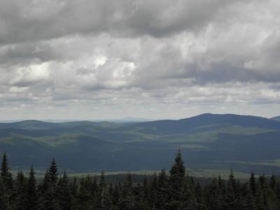 Deer Mtn at right, Mont Ham in back
