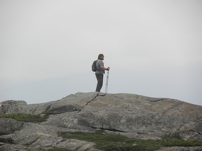 Walrus on the true summit of Middle Moat