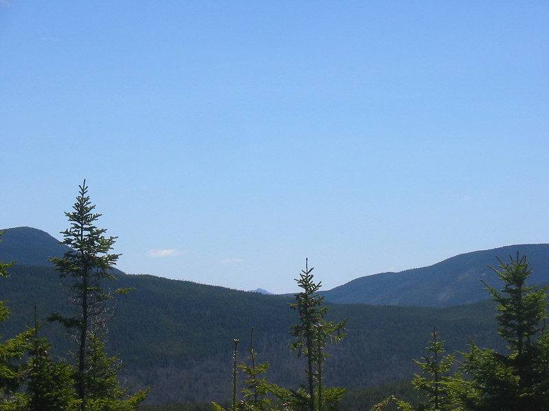 Chocorua poking up from the back