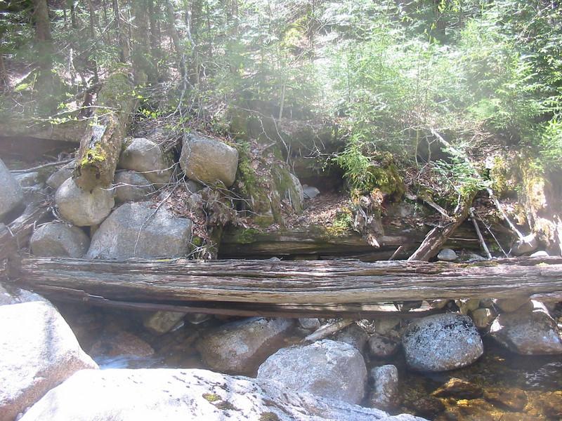 Old logging bridge