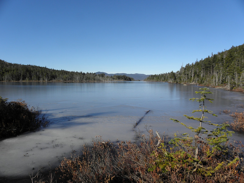 Norcross Pond looking like an infinity pool