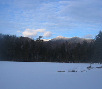 Bondcliff and Black Pond