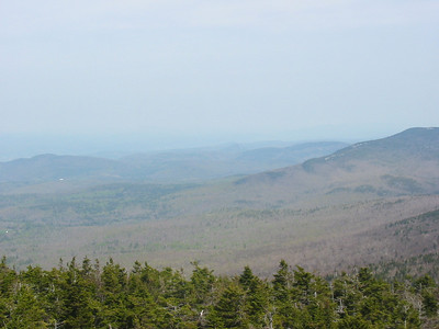 At center is a small mountain with a slide - Peaked Mtn.  Very interesting.