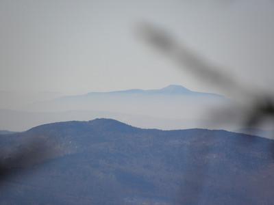 Ascutney above valley fog