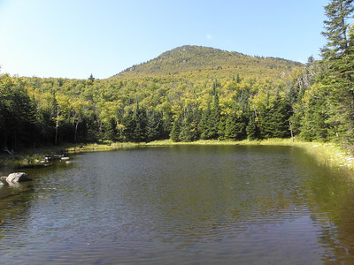 View of the Horn from little Unknown Pond