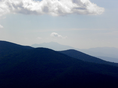 Franconia Range from Cabot ledge